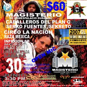 Eventos de Hip Hop Magisterio