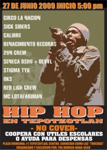 Hip Hop en Tepotzotlan
